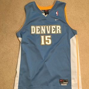 Anthony Denver Nuggets #15 Stitched Jersey XL